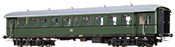 German Passenger Coach Bye-36/50 of the DB
