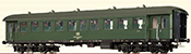 German Passenger Coach Bye-36/50 of the DB
