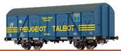 "Covered Freight Car Gos-uv253 ""Peugeot Talbot"" DB"