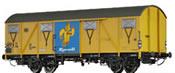 Covered Freight Car Gbs 245 Ültje