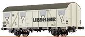German Box Car Liebherr of the DB