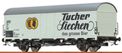 German Beer Car Tucher of the DB