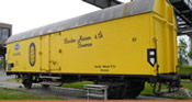 German Reefer Car HAMEICO of the DB
