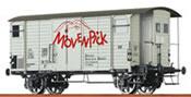 Swiss Freight Car K2 Mövenpick of the SBB