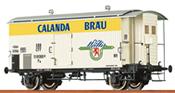 Swiss Beer Car Calanda of the SBB
