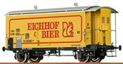 Swiss Beer Car Eichhof of the SBB