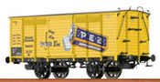 German Freight Car Gw PEZ of the DRG