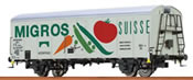 Italian Refrigerator Car UIC Migros of the FS