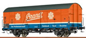 German Freight Car Glt22 Brandt of the DB