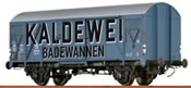 German Freight Car Gms54 Kaldewei of the DB