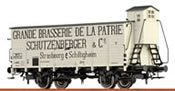 French Beer Car G10  Schutzenberger of the SNCF