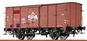 Brawa 49025 Belgian Freight Car G10 Spa of the SNCB