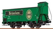 Austrian Beer Car G10 Heineken of the ÖBB