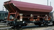German 3 Piece Open Freight Car Set Ed090 of the DB