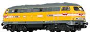 German Diesel Locomotive BR 216 H.F. Wiebe (Sound)