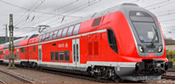 German 3pc TWINDEXX Vario Double-Deck Train of the DB AG