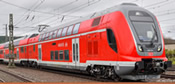 German 3pcTWINDEXX Vario Double-Deck Train of the DB AG ( w/Sound)