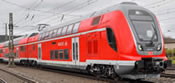 German TWINDEXX Vario Double Deck Coach 2nd Class (Middle Car) of the DB-AG