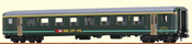 Swiss 1st Class Passenger Coach EW II of the SBB