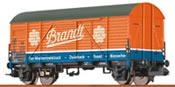 German Freight Car Gmhs Brandt of the DB