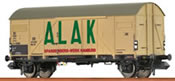 German Freight Car Gmhs Alak of the DB