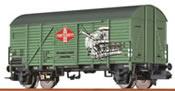 """Covered Freight Car Glmrs """"Fortschritt"""" DR"""