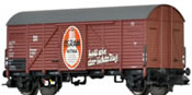 Covered Freight Car Gms Osram  DRG