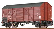 German Covered Freight Car GMHS of the DR