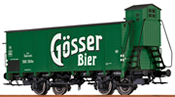 German Covered Freight Car GÖSSER BEER of the BBO