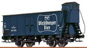 German Covered Freight Car WIESELBURGER of the BBO