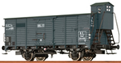 French Covered Freight Car KUWF