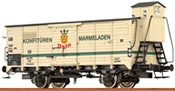 German Covered Freight Car G10 ZENTIS of the DB