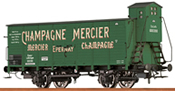 French Covered Freight Car CHAMPAGNE MERCIER