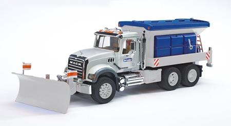 Bruder 02816 Mack Granite Snow Plow Truck