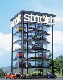 busch 1001 smart car tower. Black Bedroom Furniture Sets. Home Design Ideas