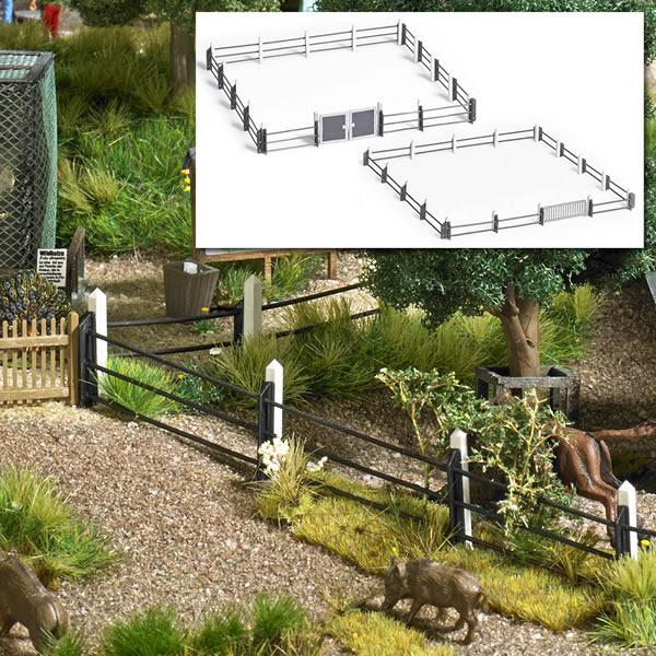 Busch 1022 - Modern Steel Pipe Fence