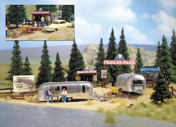 Busch 1054 - Trailer Park