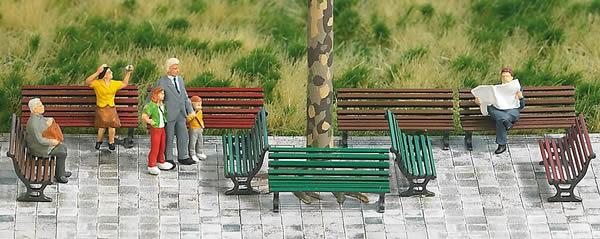 Busch 1149 - 12 Park Benches