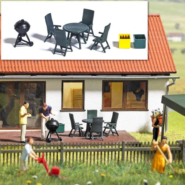 Busch 1190 - Garden Party - Barbecue Set