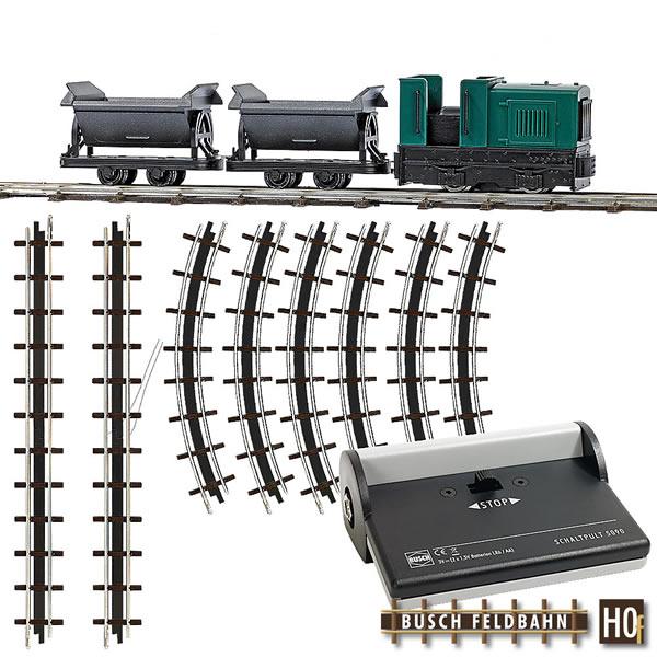 Busch 12000 - Narrow Gauge Railroad Starter Set