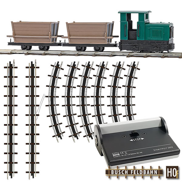 Busch 12001 - Narrow Gauge Railroad Starter Set