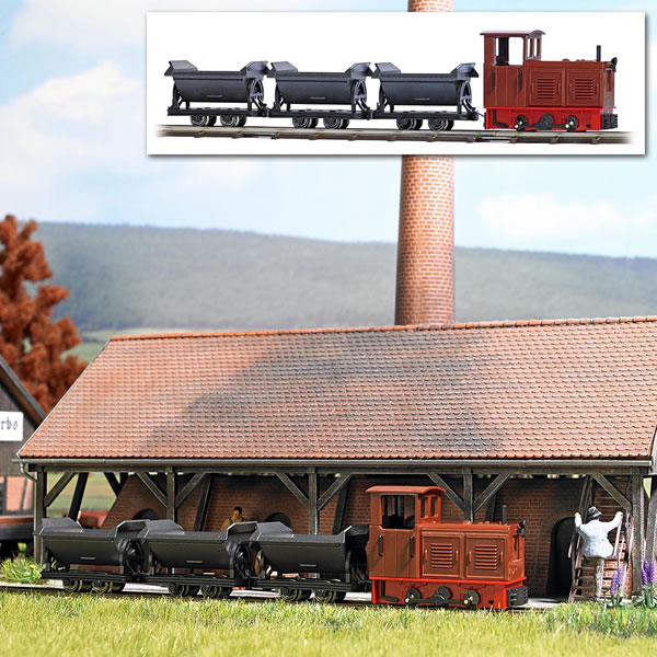 Busch 12006 - Narrow Gauge Railroad Starter Set
