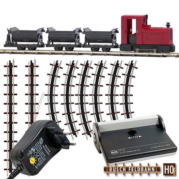 Busch 12010 - Narrow Gauge Railroad Starter Set