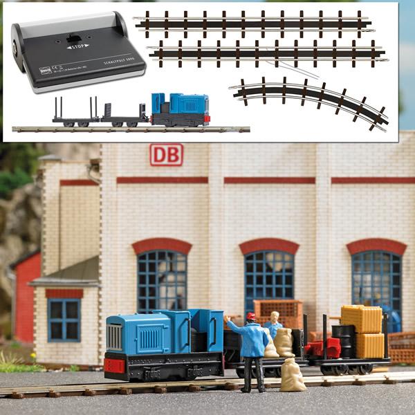 Busch 12013 - Narrow Gauge Railroad Starter Set