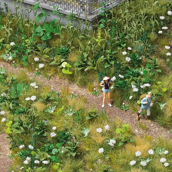 Busch 1227 - Weed & Wildflower Set