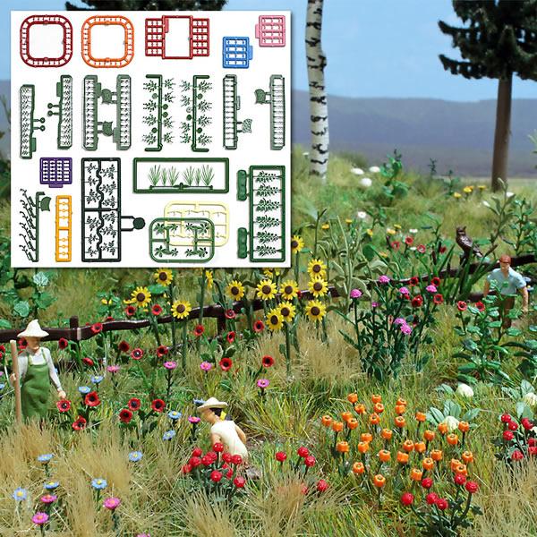 Busch 1258 - Flower & Plant Set