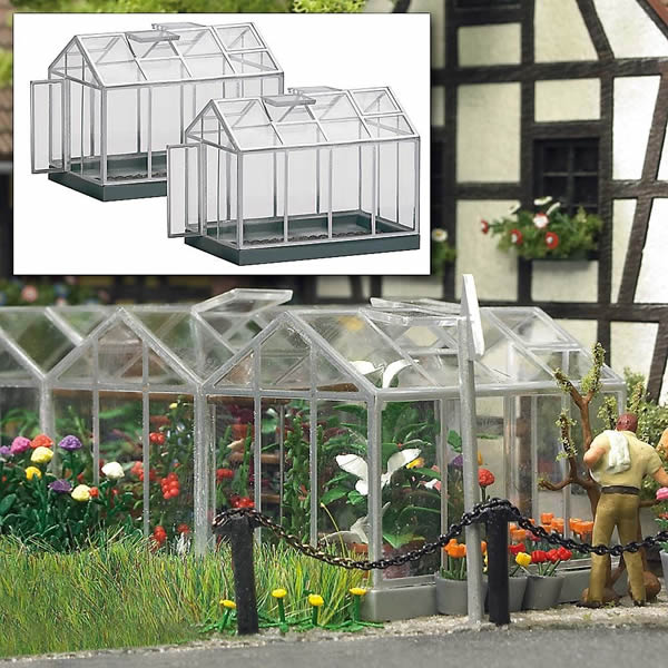 Busch 1400 - 2 Greenhouses