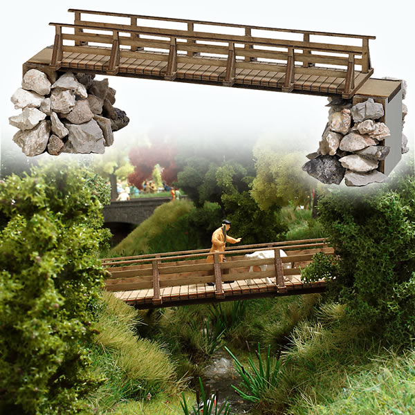 Busch 1497 - Wooden Bridge