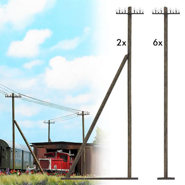 Busch 1499 - Telegraph Poles