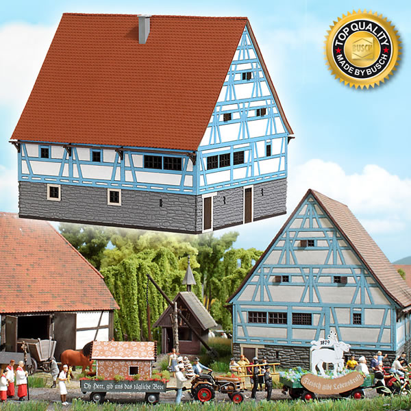 Busch 1501 - Historic Farmhouse